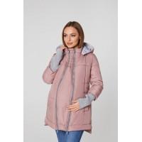 Слингокуртка и Куртка для беременных 3в1 (еврозима) Lullababe Nurmes Пыльная Роза