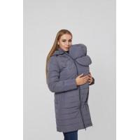 Слингокуртка и Куртка для беременных 3в1 Lullababe Dresden Серый
