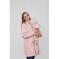 Слингокуртка и Куртка для беременных 3в1 Lullababe Dresden Розовый S