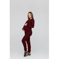 Базовый костюм для беременных и кормящих Lullababe Detroit Бордо S