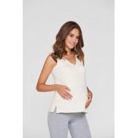 Майка для кормления и беременных Lullababe Neopol Молочный S