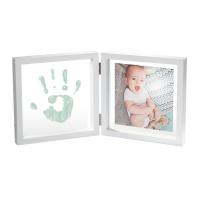 Baby Art Двойная рамочка Прозрачная с краской для создания отпечатка