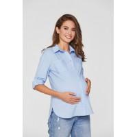 Рубашка для беременных Lullababe Cannes Голубой S
