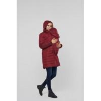 Слингокуртка и Куртка для беременных 3в1 Lullababe Dresden Бордо S