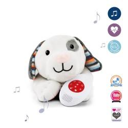 ZAZU Музыкальная мягкая игрушка DEX с белым шумом.