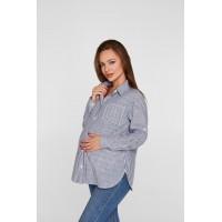 Рубашка для беременных Lullababe Cannes Полоска S
