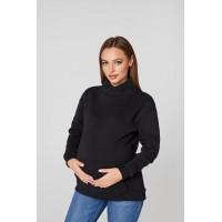 Худи для беременных Lullababe Vancouver Черный