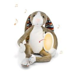 ZAZU БО Музыкальная мягкая игрушка с ночником и мелодиями.