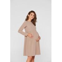 Платье  для беременных и кормящих Lullababe Beirut Бежевый S