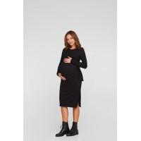 Платье для беременных Lullababe Baku Черный S