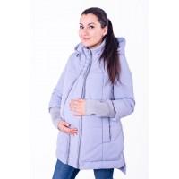 Куртка для беременных (демисезонная)- Светло-серый