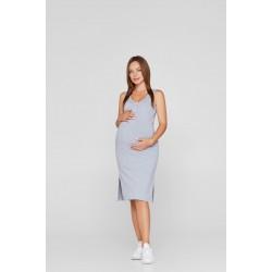 Летнее платье-майка для беременных и кормящих Lullababe Los-Angeles Меланж S