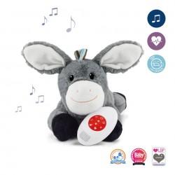 ZAZU Музыкальная мягкая игрушка DON с белым шумом.