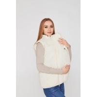 Слингожилетка для беременных 3в1 Lullababe Ontario Молочный S