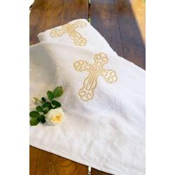 Крыжма - полотенце для крещения, махровая АРТ 40-01(1)