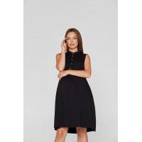 Летнее платье для беременных и кормящих Lullababe Sofia Черный S