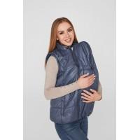 Слингожилетка для беременных 3в1 Lullababe Ontario Деним S