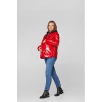 Весенняя куртка для беременных Lullababe Zaragoza Красный S