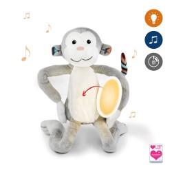 ZAZU MAX МАКС Музыкальная мягкая игрушка с ночником и мелодиями.