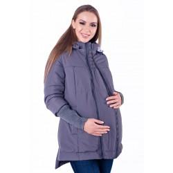 Куртка для беременных (демисезонная)- Темно-серый